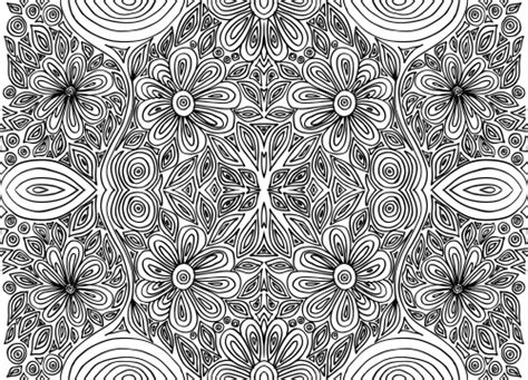 intricate floral coloring pages doodle coloring page intricate flowers 1