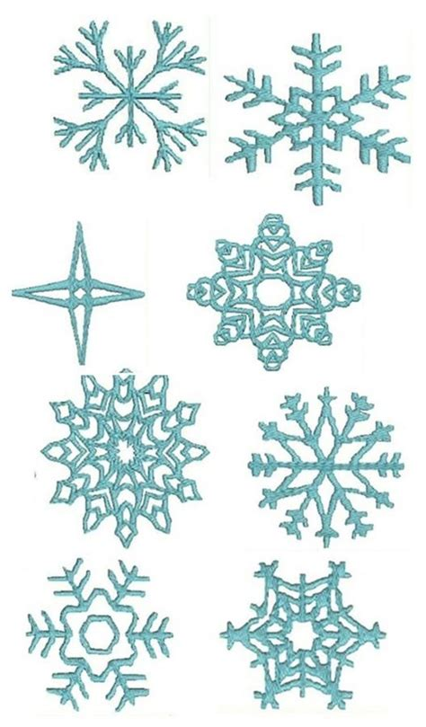 templates for snowflakes search results for frozen snowflake simple template