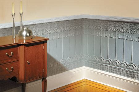 How To Wainscot by How To Install A Lincrusta Wainscot This House
