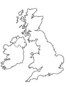 Simple Uk Outline by Tactile Graphics