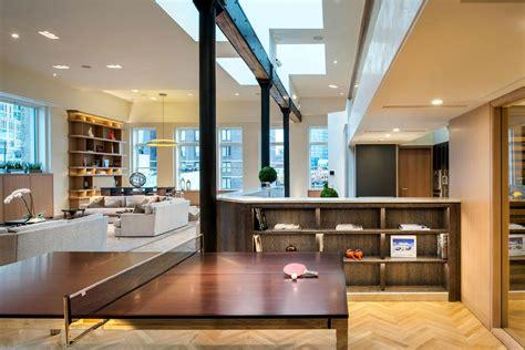 exclusive  manhattan penthouse loft  soho idesignarch interior design architecture