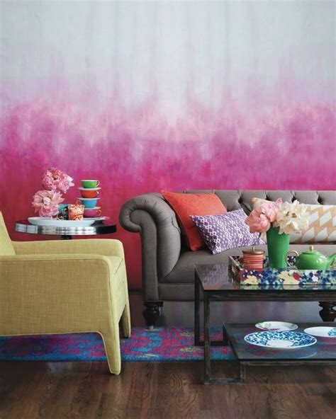 ombre wall 10 incredibly creative interior design ideas with ombre