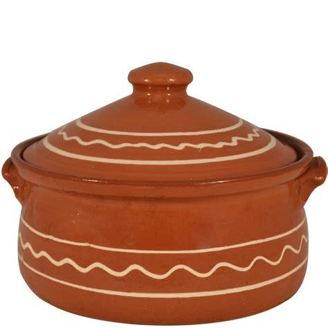 Cooking Pot terracotta cooking pots zig zag