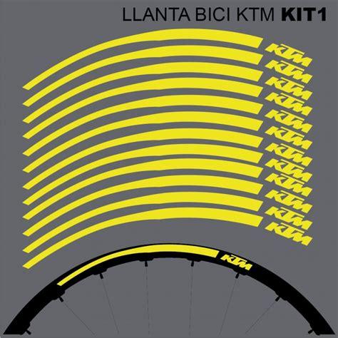 Ktm E Bike Aufkleber by Ktm Llantas Mtb 26 Quot Kit1 Stickers For Bike Vinyls Decals