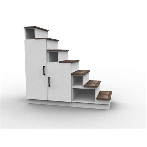 Rangement En Escalier by Escalier Avec Rangement Sur Mesure Dessinetonmeuble