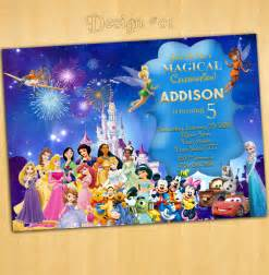 disneyland invitations birthday disneyforever hd invitation card portal
