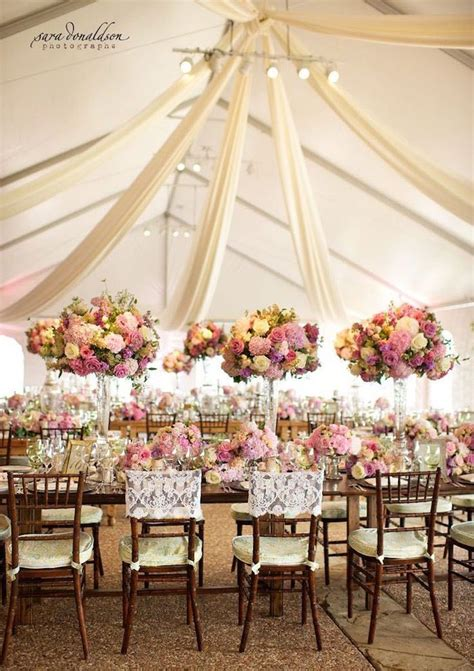 tent weddings and drapes with luxe style wedding