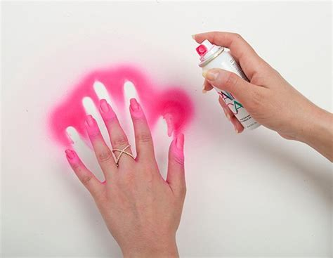 how do you get nail polish off a couch spray on nail polish tutorial to tame your manicure