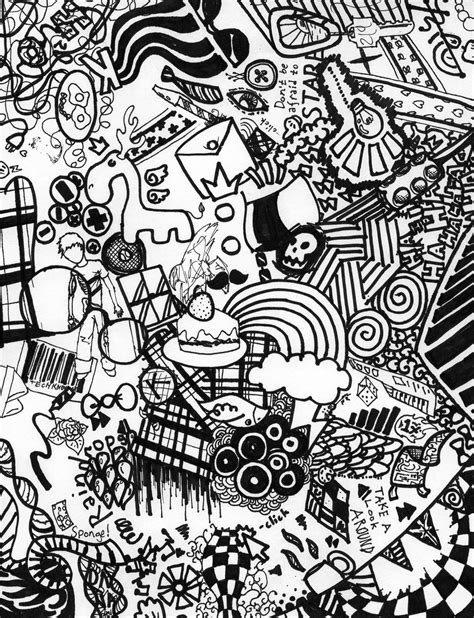 Easy Things To Draw In Sharpie by Sharpie Doodle Intricate Arts