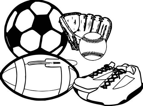 sports coloring sheets activity sport coloring page wecoloringpage