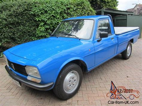 peugeot 504 pickup 1993 q reg peugeot 504 2 3 diesel pick up blue