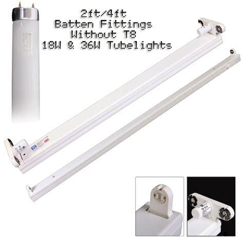 4ft double fluorescent light fittings batten light fittings t8 fluorescent batten fittings