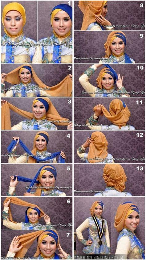 tutorial berhijab buat wisuda best 25 hijab tutorial ideas on pinterest