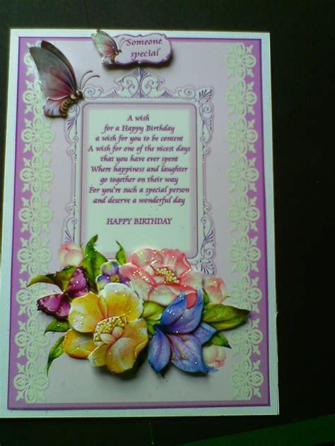Birthday Card Verses Birthday Verse Birthday Verses Pinterest