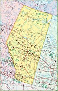 map of canada alberta large detailed map of alberta with cities and towns