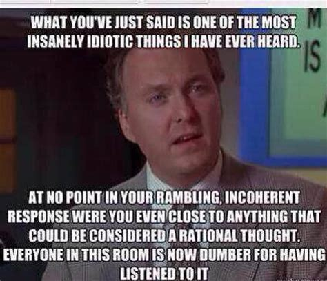 Billy Madison Memes - quot i award you no points and may god have mercy on your soul quot ultimate insult man know your meme