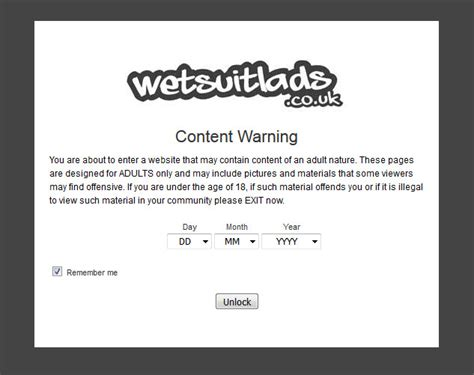 content warning new website content warning wetsuitlads