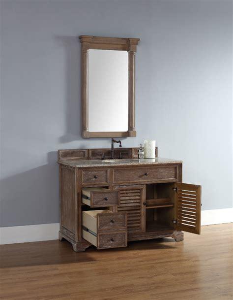 driftwood bathroom vanity 48 inch savannah driftwood grey single sink vanity beach