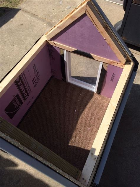 insulated outdoor dog houses diy dog house insulated diy dog house pinterest dog houses diy