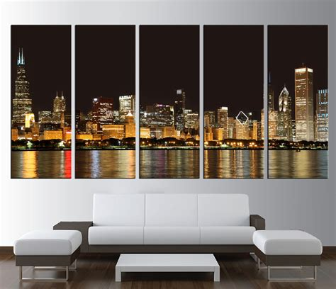 home decor chicago wall art designs chicago wall art large print chicago