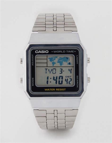 casio argento prezzo smart digitale orologio bluetooth vivavoce lcd