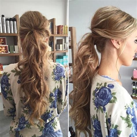 Ponytail Prom Hairstyles by 35 Simple Ponytail Hairstyles