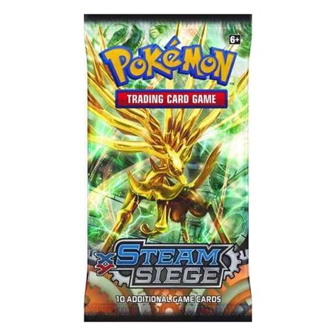 Gift Card Pack - xy steam siege pokemon booster pack