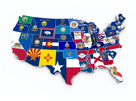 usa map states flags the fifteen states that will decide the election hamodia