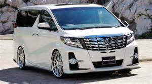 Toyota Alphard Toyota Alphard And Vellfire Gets Wald Sports Line Kits