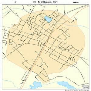 matthews carolina map st matthews south carolina map 4562620