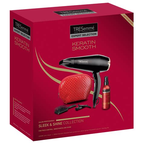 Hair Dryer Keratin tresemme keratin sleek shine dryer shine spray hair