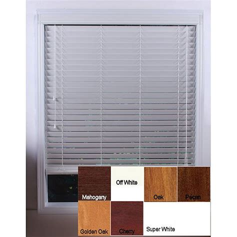 customized 26 inch real wood window blinds - 26 Inch Shades