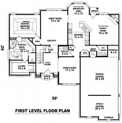 houseplans net floor plan hillside house plans pinterest