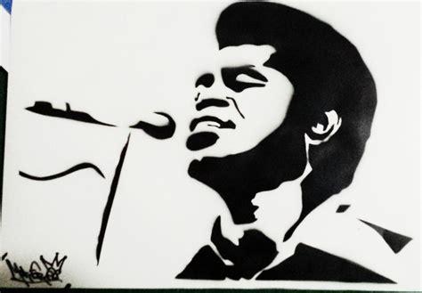 Mr Joe Rocky Brown brown stencil airbrush by mrfreedeviant on deviantart