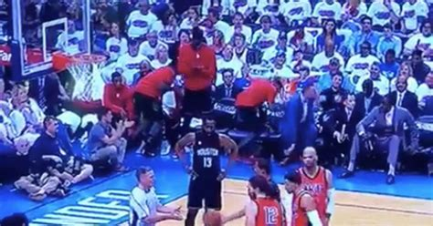 bench sports watch watch rockets bench openly mocks andre roberson at the