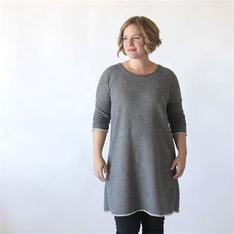 Tunic Asy the breezy sleeve sweater dress free sewing