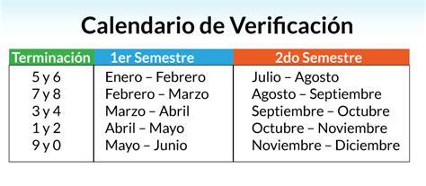 calendario de verificacion de taximetros 2016 verificacion vehicular guanajuato 2016 no olvides la nueva
