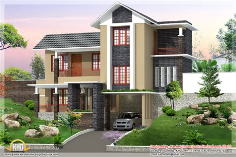 New Home Design Studio | new trendy 4bhk kerala home design 2680 sq ft home