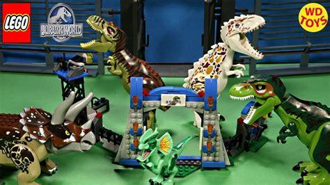 Frame Lego Jurassic World New Lego Jurassic World Knockoff Raptor Escape 75920 Stop