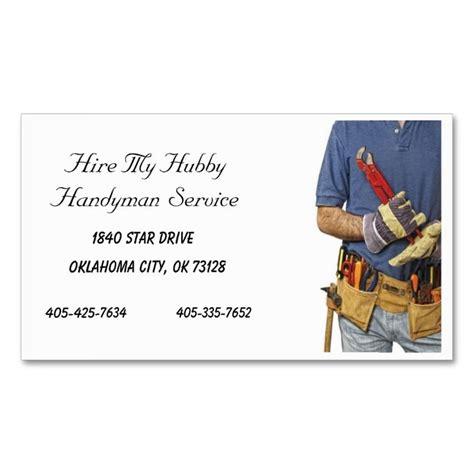 free printable handyman business card templates handyman business cards thelayerfund