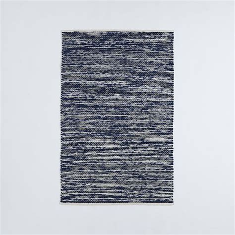 cotton wool rugs painter s cotton wool rug midnight west elm