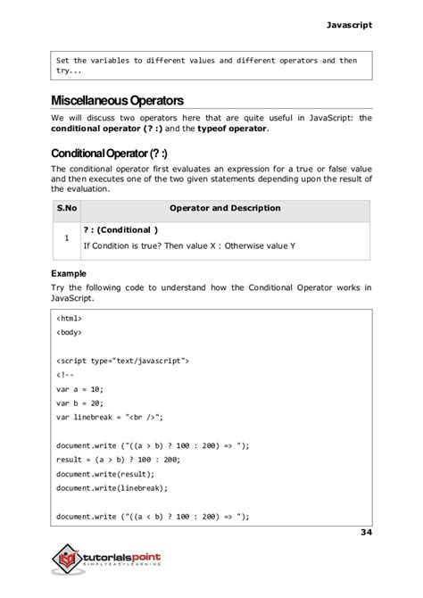 javascript tutorial point javascript tutorial tutorialspoint