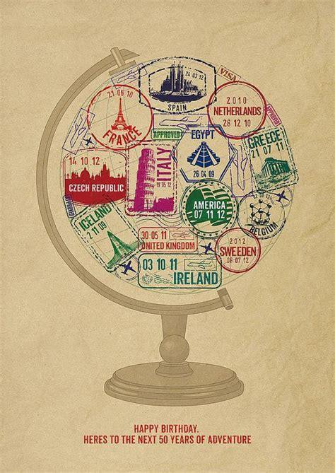 Travel Themed Birthday Cards