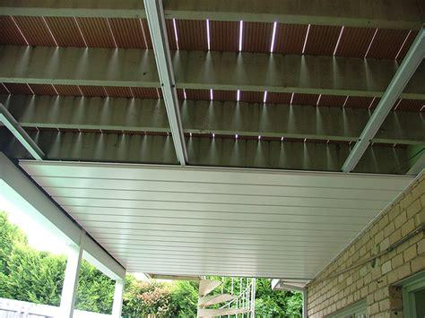 waterproof deck with underdeck