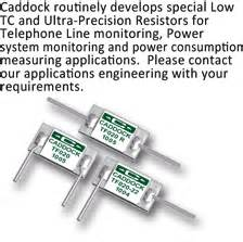 precision resistor applications caddock s low tc precision resistor products