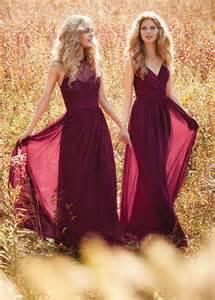 burgundy draped v neck spaghetti strap lace and chiffon