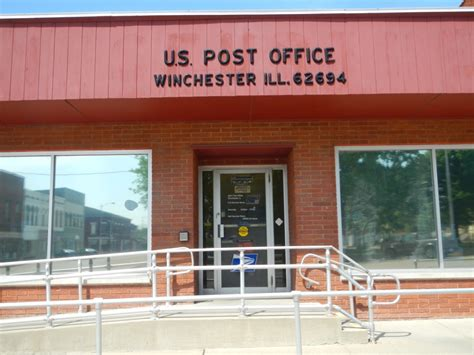 Winchester Post Office Hours by Winchester Il Post Office 62694 Post Office Freak