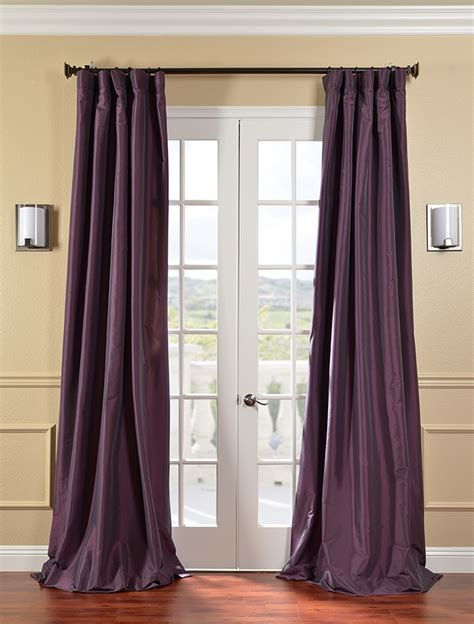 Long Beautiful Silk Long Drapes Curtains Lined Brand New