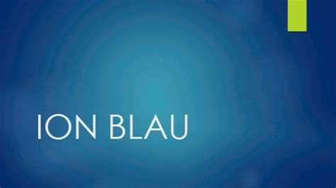 ion blau office templates