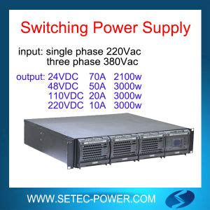Pwm Dc Power Supply Input 220vac Output Dc 0 110v china power supply rectifier 220vac 110vdc 20a 40a 60a 80a